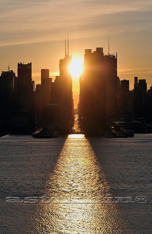Morning in Manhattan.