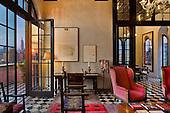 Home of Julian Schnabel, Palazzo Chupi Penthouse, NYC