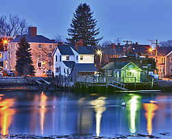 The South End of Portsmouth, New Hampshire. HDR