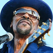 WASHINGTON, DC - August 15th, 2009 - Chuck Brown performs at the 2009 Stone Soul Picnic at RFK Stadium. (Photo by Kyle Gustafson)