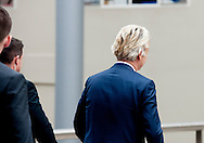 DEN HAAG - Portret van Geert Wilders, lijsttrekker van de Partij voor de Vrede (PVV).  portret van geert wilders  pvv copyright robin utrecht <br />  2017 aanvullende agent alertheid ambtsgeheim beschuldigd beschuldiging beveiligen beveiliger beveiligers beveiliging beveiligingsdienst bewaken bewakers bewaking criminaliteit dbb dienst en fractieleider generaal holland informatie kamerlid kamervergadering lek lekken lekkende lekschandaal lid loslippig marokkaans-nederlandse medewerker misdaad misdrijf nederland nederlands-marokkaanse nederlandse opscheppen opsporingsonderzoeken parlement parlementarier parlementslid parlementsvergadering persoonsbeveiliger persoonsbeveiliging persoonsbewaking politici politicus politie-informatie politieagent politiek politiesystemen protectie pvv-leider schending staten tk toegang tweedekamer tweedekamerlid tweedekamervergadering uit veiligheid veiligheidsdienst veiligheidsmaatregelen veiligheidsrisico verdenking vergadering vertrouwelijke volksvertegenwoordiger volksvertegenwoordiging voorzorg zeer