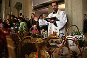 Easter food consecration ( polish Tradition ) photo Piotr Gesicki