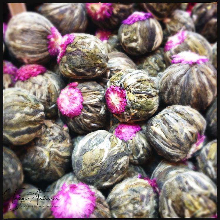 Jasmine tea balls - Jerusalem, Israel