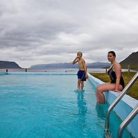 Swimming in Reykjafjörður