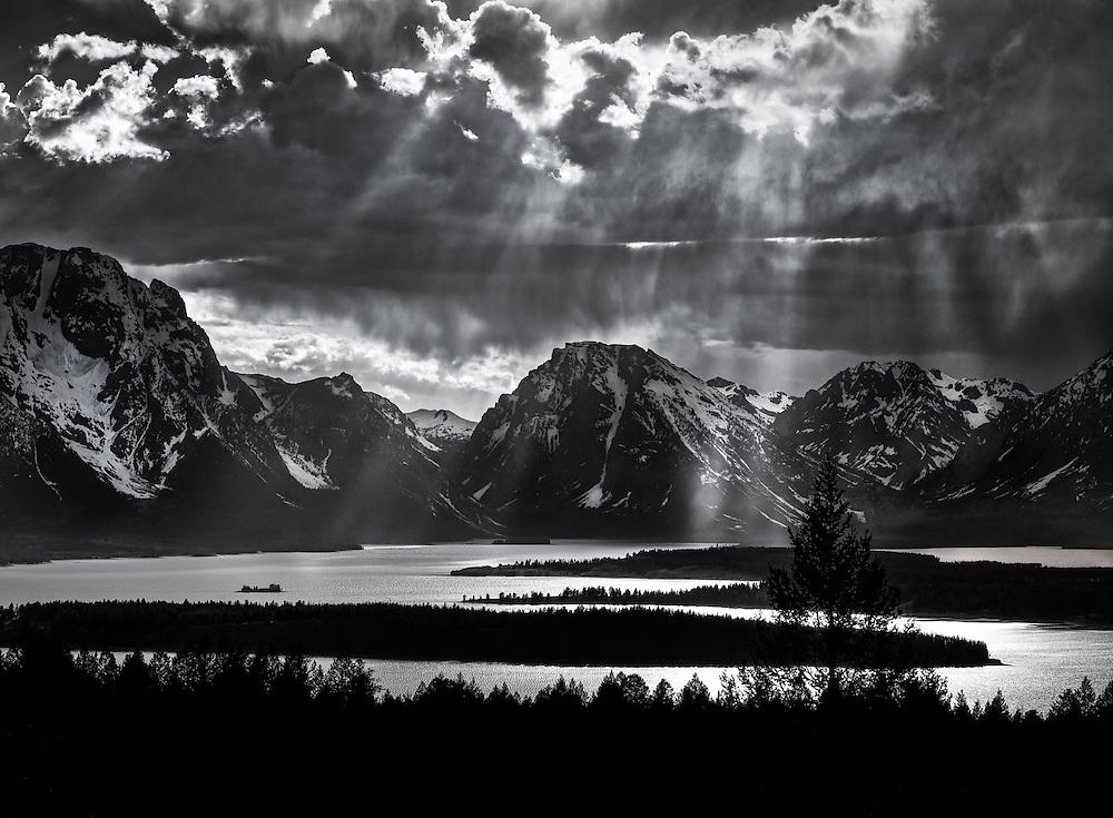Jackson Lake. Grand Teton National Park