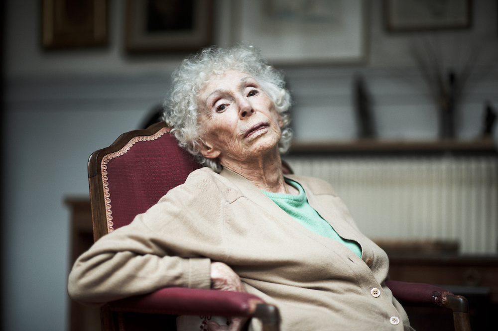 PARIS, FRANCE. SEPTEMBER 20, 2011. Tereska Torres at her home. She is a French writer. Enlisted in Charles de Gaulle's Free French Forces (Forces Volontaires Francaises), she worked as a secretary in de Gaulle's headquarter in London. Photo: Antoine Doyen.
