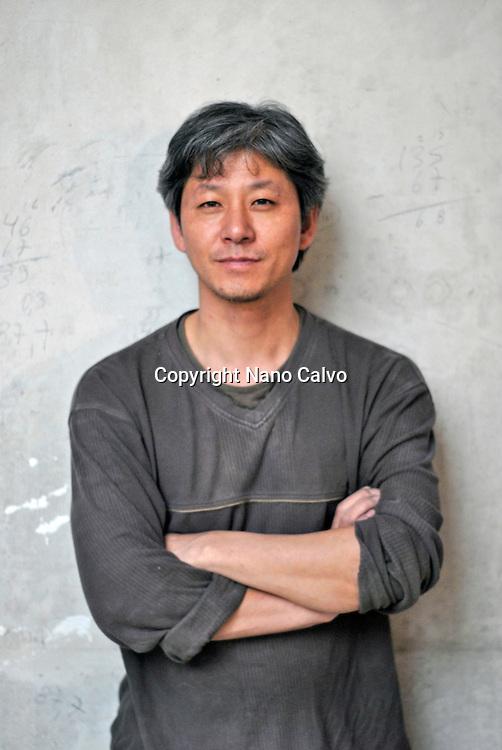 Korean artist Bahk Seonghi