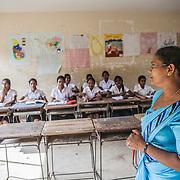 The Catholic school of the church of Saint Philip Neris, in Katukurunda, south of Colombo, a predominantly Buddhist area