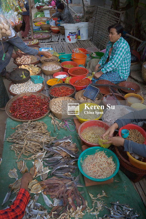 Local market, Bagan, Myanmar