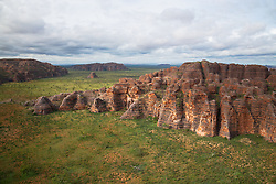 Aerial view of the Bungle Bungles in the East Kimberley.