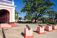 Cannons in Cardenas, Matanzas, Cuba.