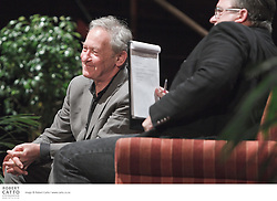 """One of the world's most widely read historians, Simon Schama is University Professor of Art History and History at Columbia University. Schama has been described as a """"scholar-artist [who]...marries jewel-like colouring of character, place and period with the iron grip of a strong pulsed narrative"""".  His influential books include A History of Britain, Landscape and Memory, and Rough Crossings.   He was joined at NZ Post Writers & Readers Week by Sean Plunket."""