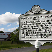 Rowan Memorial Home, Sweet Springs, West Virginia May 2011