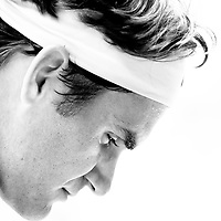 Roger Federer defeated Stanislas Wawrinka in the men's quarter final match at the Australian Open 2011.