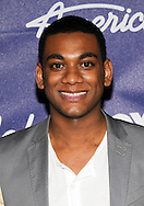 Joshua Ledet at 'American Idol' 2012 Top 13 Finalists Party at the Grove on March 1, 2012 in Los Angeles