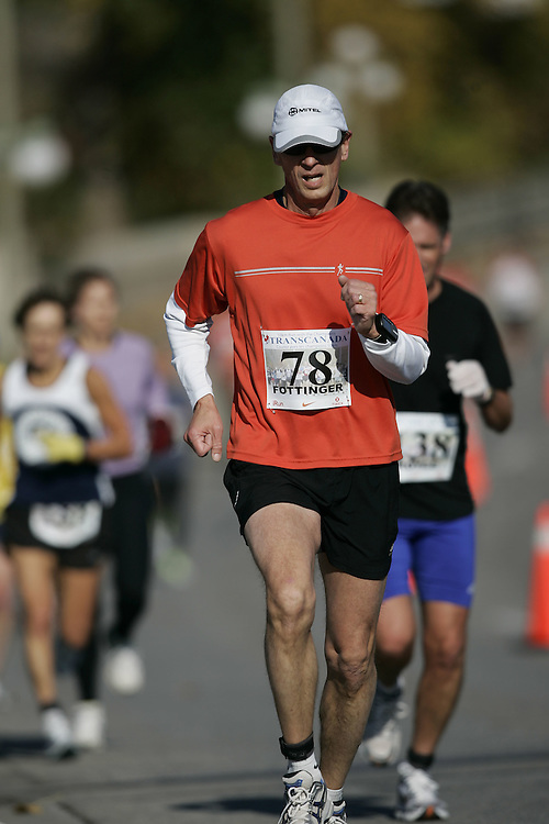 (Ottawa, ON---18 October 2008) TOM FOTTINGER competes in the 2008 TransCanada 10km Canadian Road Race Championships. Photograph copyright Geoff Robins/Mundo Sport Images (www.msievents.com).