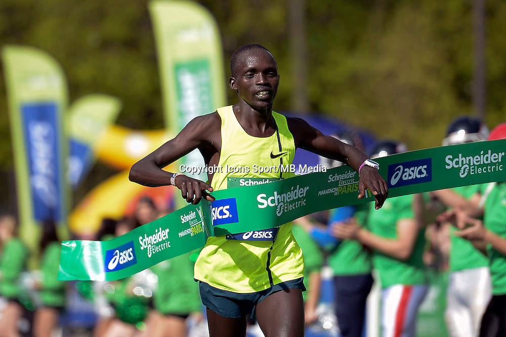 Luka Kanda - 12.04.2015 - Marathon de Paris 2015<br />Photo :  Andre Ferreira  / Icon Sport