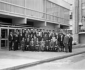 1969 Galway Hurling team visits the Player Wills Factory