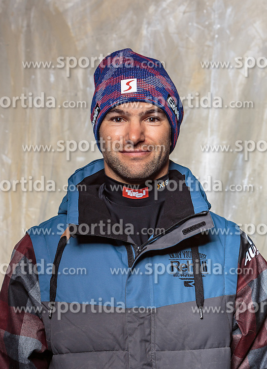 08.10.2016, Olympia Eisstadion, Innsbruck, AUT, OeSV Einkleidung Winterkollektion, Portraits 2016, im Bild Lukas Grüner, Snowboard // during the Outfitting of the Ski Austria Winter Collection and official Portrait Photoshooting at the Olympia Eisstadion in Innsbruck, Austria on 2016/10/08. EXPA Pictures © 2016, PhotoCredit: EXPA/ JFK