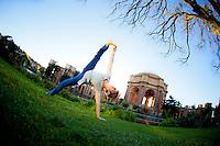 Darcy Lyon at the Palace of fine arts, San Francisco