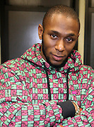 Mos Def , in the green room at The Kaufman Concert Hall at The 92 Street Y on thursday February 28, 2008..Regarded as one of hip-hop's most insightful artists, Mos Def has shaped a career that transcends genres. His groundbreaking collaboration with fellow rapper Talib Kweli in Black Star; his distinctive and daring solo work, and his acting, both in film and theater, have earned him Grammy, Emmy, Golden Globe and NAACP Image Award nominations. Add to that his activism, most recently in the Jena six case, and you have a portrait of an artist fully engaged with the issues of his times. Mos Def discusses his music, his acting, his social and political perspective, and his vision of the role that artists must play in the public world. Anthony DeCurtis is a contributing editor for Rolling Stone and the author of In Other Words: Artists Talk About Life and Work..