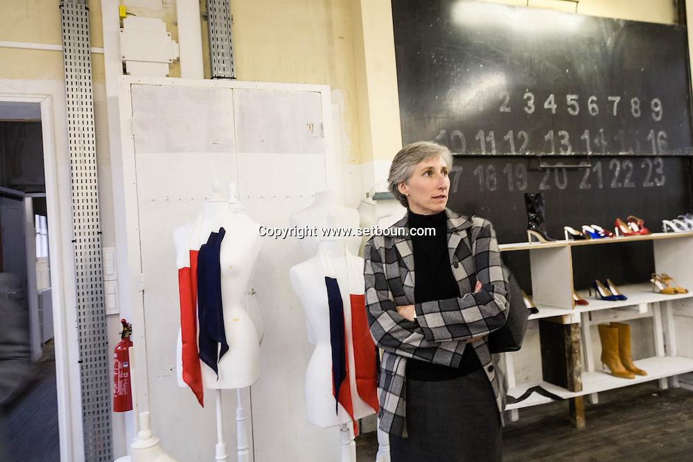 France. Paris fashion. Martin Margiela couture showroom  163 rue Saint Maur