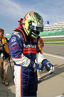 Kosuke Matsuura at the Kansas Speedway, Kansas Indy 300, July 3, 2005