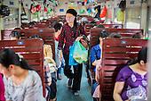 Riding the Hanoi - Hai Phong Express Train