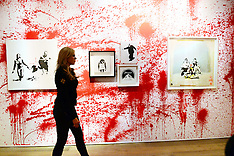 JUN 06 2014 Banksy The Unauthorised Retrospective