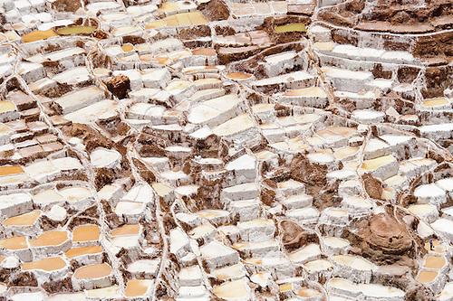 Inca Salt Pans At Maras, Peru Royalty Free Stock Photos - Image ...