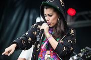 Mariel Mariel at day two of Ruido Fest.