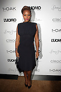 """Eve pictured at the cocktail party celebrating Sean """"Diddy"""" Combs appearance on the """" Black on Black """" cover of L'Uomo Vogue's October Music Issue"""