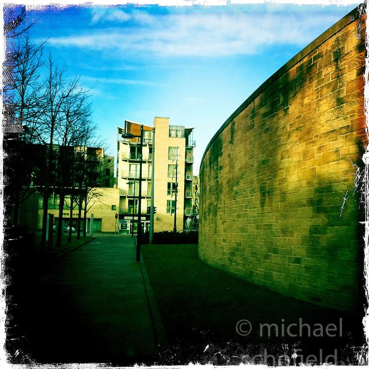 Dynamic Earth, Edinburgh..Hipstamatic images taken on an Apple iPhone..©Michael Schofield.