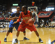 "Mississippi's Chris Warren vs. Memphis's Elliot Williams in NIT second round basketball action at the C.M. ""Tad"" Smith Coliseum in Oxford, Miss. on Friday, March 19, 2010. Ole Miss won 90-81."