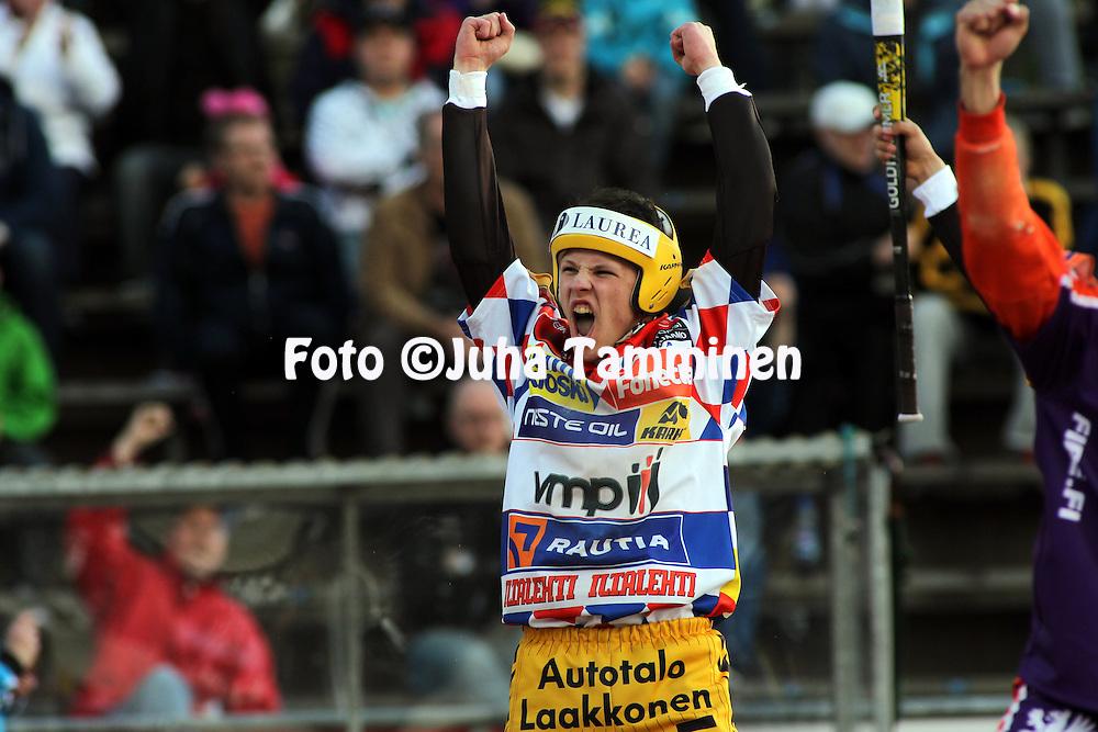 30.05.2010, Pihkala, Hyvink??..Superpesis 2010, Hyvink??n Tahko - Sotkamon Jymy..Lauri Vierimaa - Tahko.©Juha Tamminen.