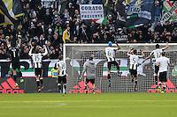 can - 22.01.2017 - Torino - Serie A 2016/17 - 21a giornata  -  Juventus-Lazio nella  foto: l'esultanza dei giocatori della Juventus a fine partita