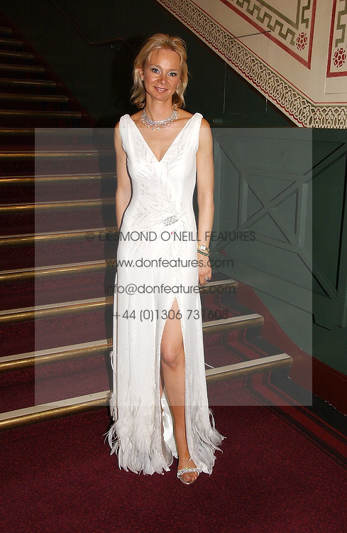 The COUNTESS OF DERBY at the NSPCC's Dream Auction held at The Royal Albert Hall, London on 9th May 2006.<br /><br />NON EXCLUSIVE - WORLD RIGHTS