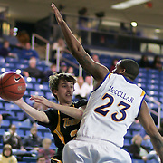 Towson Guard (#20) Brian Morris, with the ball during Towson Delaware game. Delaware defeated Towson 80-70 at The Bob Carpenter Center Wednesday night In Newark Delaware.