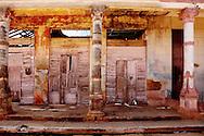 Missing roof in Alquizar, Artemisa, Cuba.