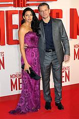FEB 11 2014 UK Premiere of The Monuments Men