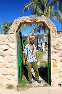 Man in Santa Fe, Havana, Cuba.