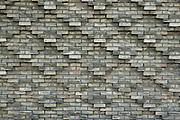 Brick work detail, University of Aarhus set in the University Park designed by C.F. Moller Architect & Søren Jensen Engineer