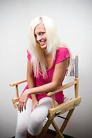 JESSHEIM 2009030: Glamourmodell Ida Gran var med på Paradise Hotel på TV3.  FOTO: TOM HANSEN