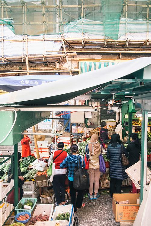 Central district street scenes (Graham Street Market)