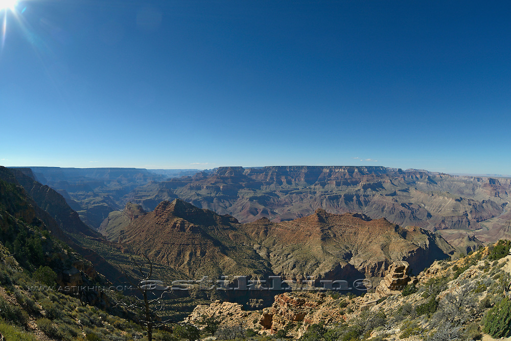 Suny day in Grand Canyon.