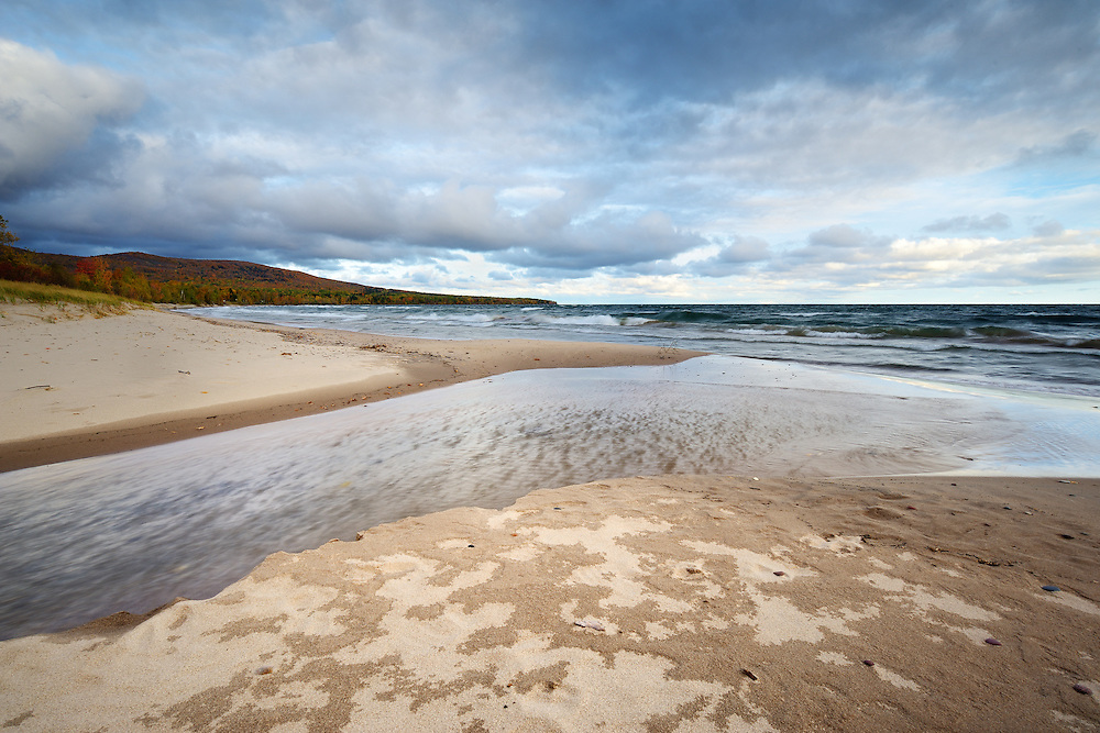 The end of a stormy morning at Union Bay near Porcupine Mountains State Park<br /> <br /> Michigan's Upper Peninsula