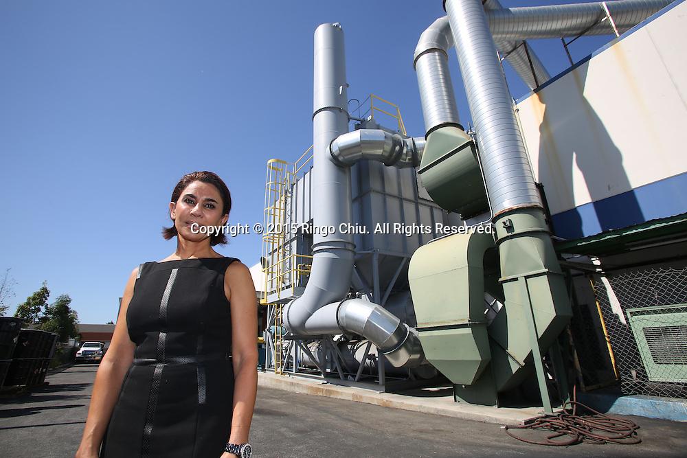 Anoosheh Oskouian, CEO of of Ship & Shore Environmental Inc.