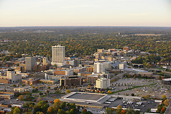 Aerial of downtown South Bend, Indiana..Photo by Matt Cashore..Use of this image prohibited without authorization and/or compensation..To contact Matt Cashore:.574.220.7288.574.233.6124.cashore1@michiana.org.www.mattcashore.com