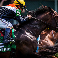 May 03, 2014: Global View and Gary Stevens win the American Turf Stakes at Churchill Downs Louisville Ky. Alex Evers/ESW/CSM