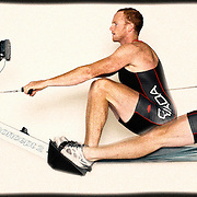 Will Crothers demonstrates Rowing Canada Erging Technique